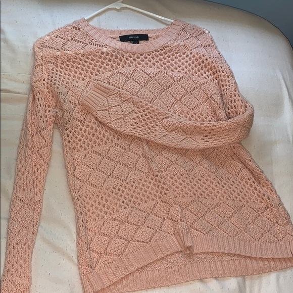 Forever 21 Tops - forever 21 pink sweater